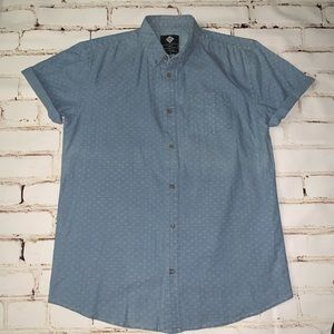 🆕[cotton:on] s/s printed button-down shirt